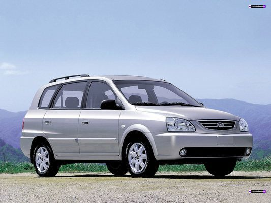 Kia Carens 2003-2004 Workshop Service Repair Manual