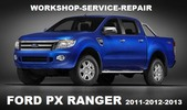 Ford Ranger Px Truck 2011 2012 2013 Workshop Service Repair Manual